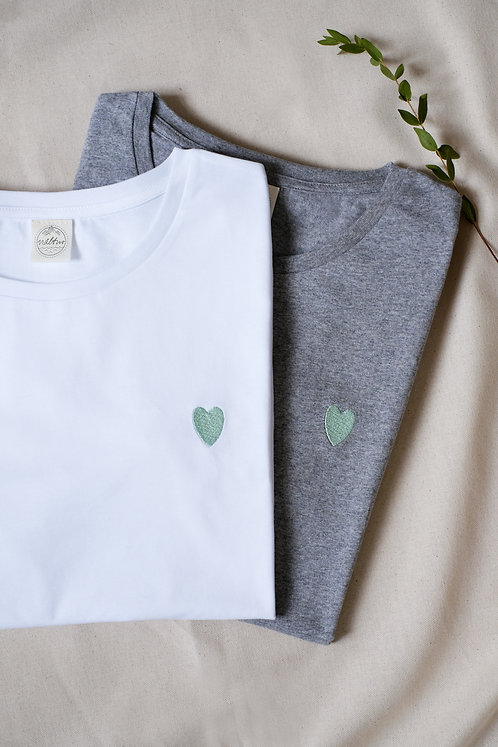 "T-Shirt Unisex ""Green Heart"""