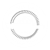 Double Eagle logo - white, transparent b