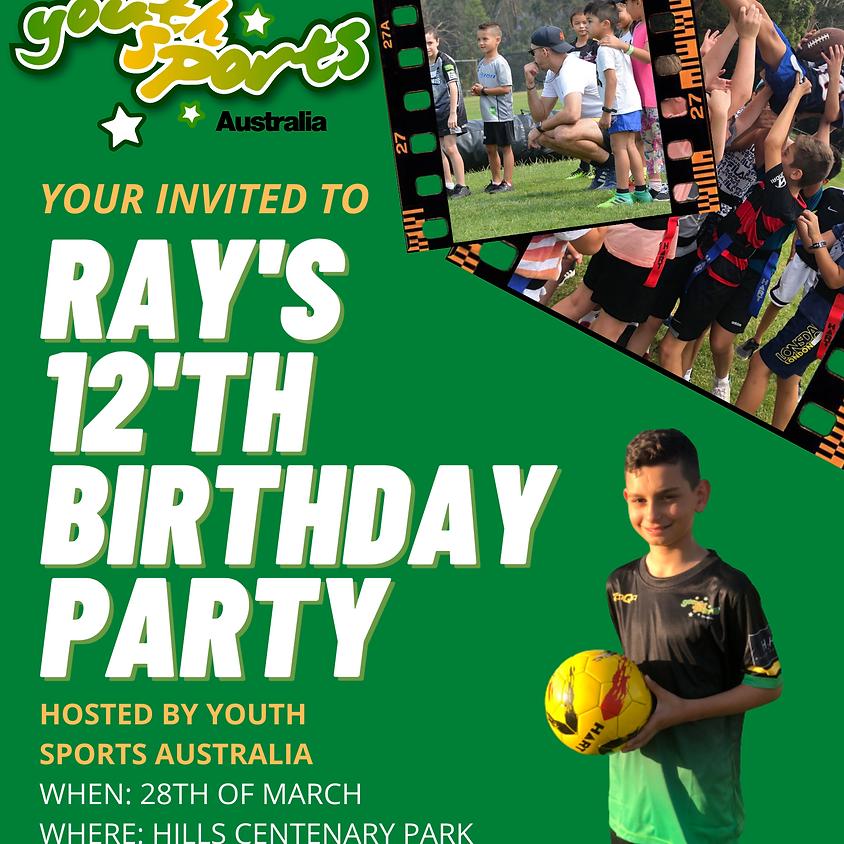 RAY'S 12TH BIRTHDAY PARTY