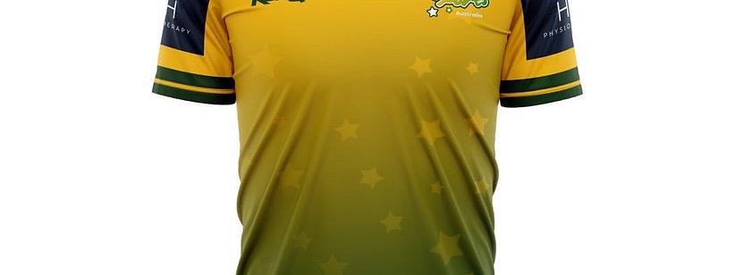 Youth Sports Australia 2020 Training Shirt- Yellow