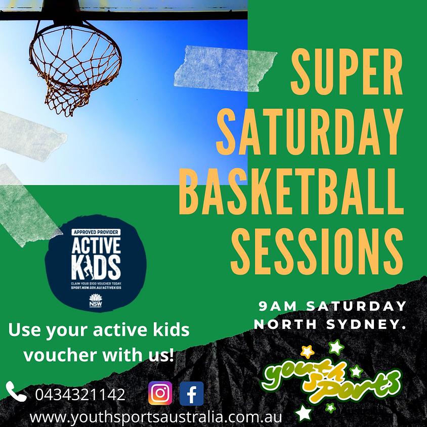 Super Saturday Beginners Basketball Class