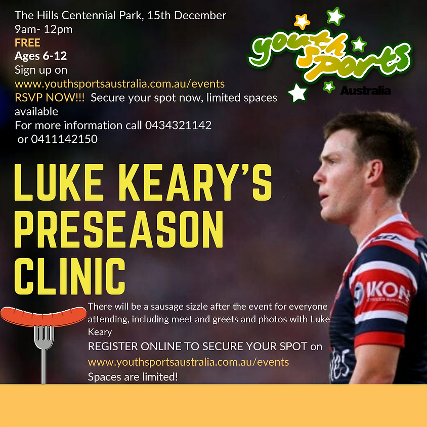 Rugby League Sports Clinic