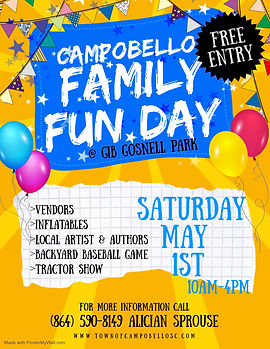 Copy of Family Fun Day Flyer - Made with