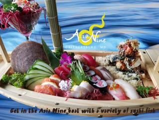 Asia Nine Sushi boat