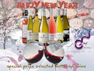 New Year 2018 Wine special