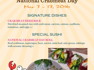 National Crabmeat Day