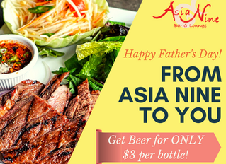 Impress your Father at Asia Nine MD