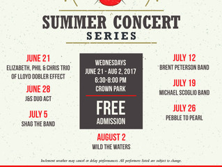 CROWN SUMMER CONCERT SERIES with Asia9 Grilled