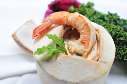 Tom Kha shrimp Soup
