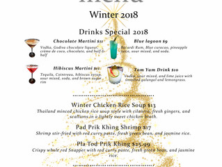 Season Greeting and Winter Special from Asia Nine Gaithersburg 2018
