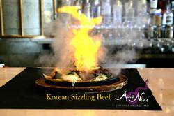 Korean Sizzling Beef at Asia Nine