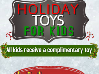 Holiday toys for kids at Asia Nine