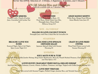 Chinese New Year & Valentine's day Special