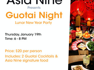 Guotai Night at Asia Nine