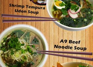 A9 Winter Noodle Soups