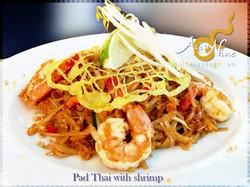 Pad Thai w/Shrimp