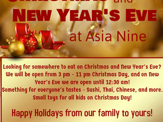 Open X'mas and New Year' Eve