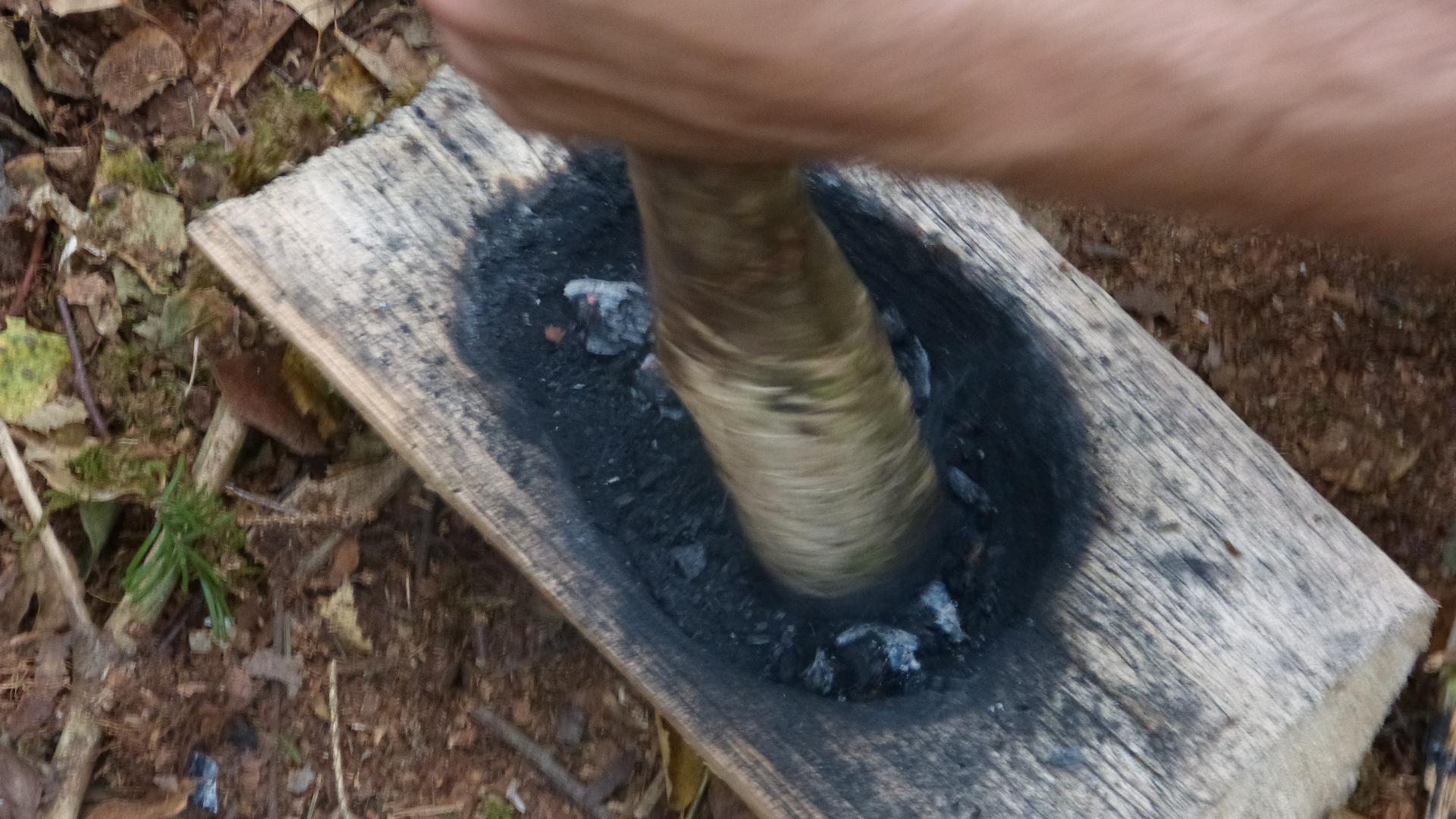 Kohle mörsern für den Wasserfilter
