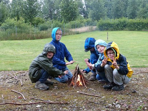 Hüttenbau & Feuermachen