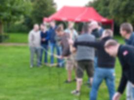 Bogenschießen Team Event