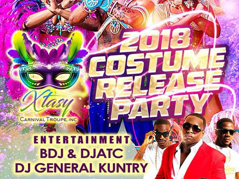 Xtasy Carnival Troupe Launch and Costume Reveal