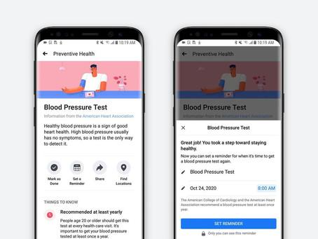 Facebook Launches Platform to Promote Preventive Care Access