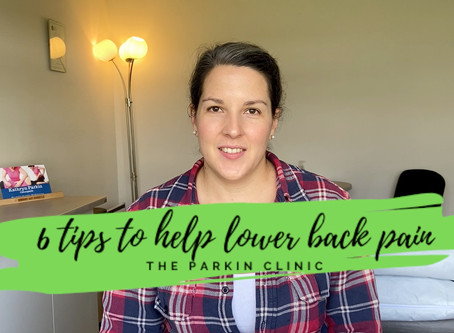 How to relieve lower back pain?