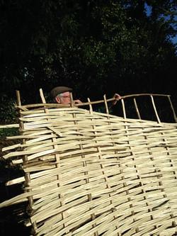 Hurdle maker Ken Galton