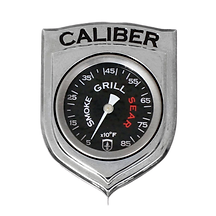 Caliber thermometer met witte achtergron