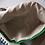 Thumbnail: soft crocheted long green purse