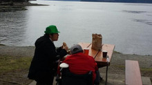 Breakfast at Porteau Cove
