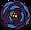 blue rose flower illustration