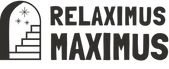 relaximus maximus logo with portal icon