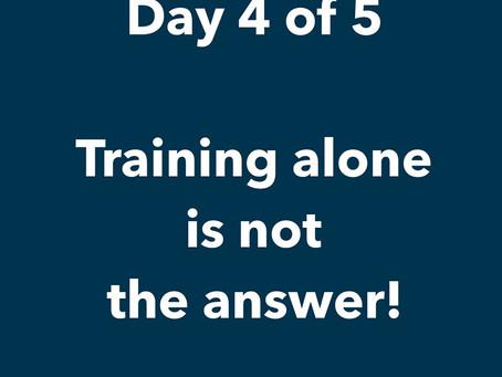 Does Diversity Training Alone Work?