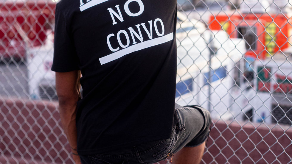 All Verb No Convo Anti Social tee
