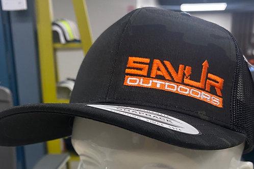 Black Camo Savur Hat