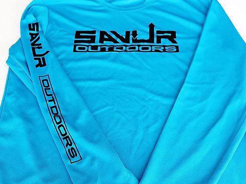 Savur Outdoors Blue Long Sleeve