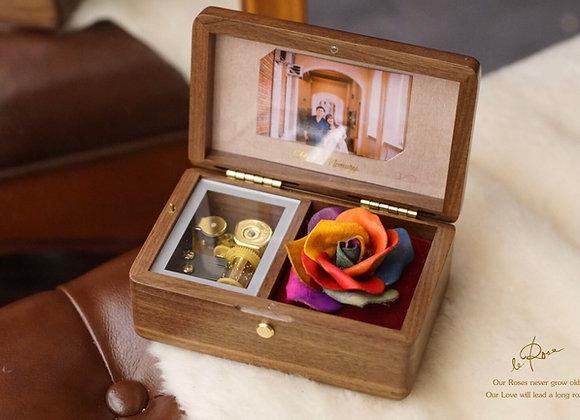 【彩虹玫瑰系列】Memory Box 音樂盒