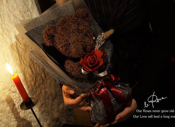 BeaRose熊玫瑰 (大花) -專人送貨