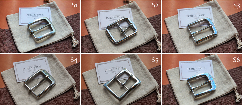 stainless steel buckle choices