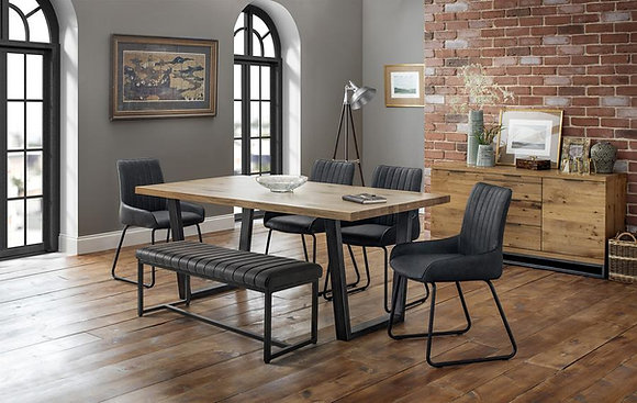 Soho Dining Set (Bench & 4 Chairs)
