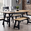 Thumbnail: Luna Dining Table (Bench & 4 Chairs)
