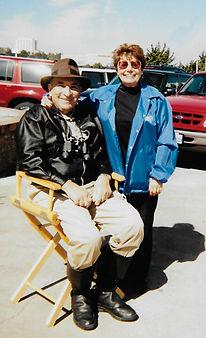 Frank as Indiana Jones with Jan Mergel.j