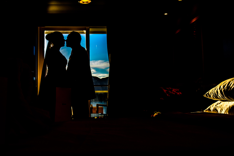 casamento no navio
