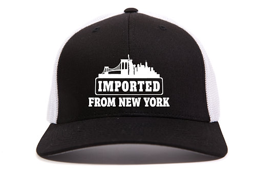 Imported from New York - FlexFit Mesh Cap Embroidered