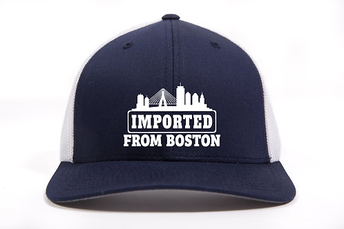 Imported from Boston - FlexFit Mesh Cap Embroidered