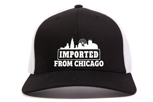 Imported from Chicago - FlexFit Mesh Cap - Embroidered