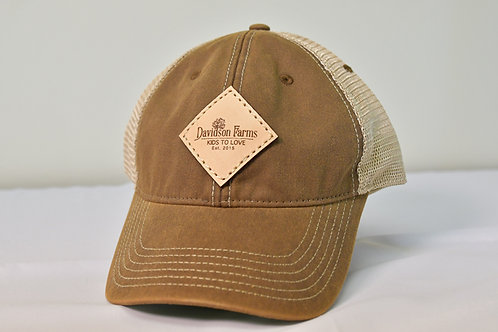 Davidson Farms Cap in Brown
