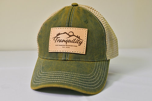 Tranquility Cap in Green