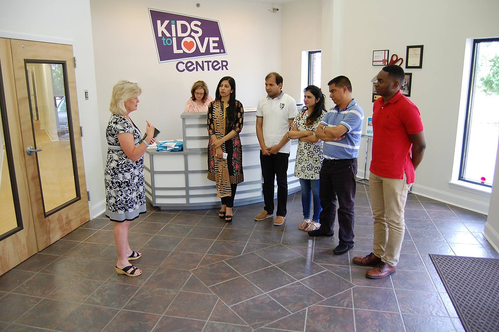 Kids to Love welcomes guests from Pakistan, India and the Cong